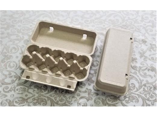 10顆平面蛋盒(黃漿/標準蛋4.5cm).....未稅價