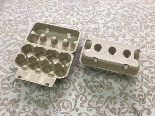 8顆凹洞蛋盒(黃漿/標準蛋4.5cm).....未稅價
