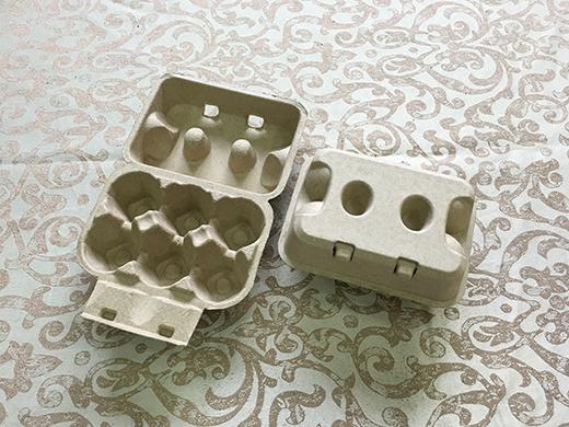 6顆凹洞蛋盒(黃漿/標準蛋4.5cm).....未稅價
